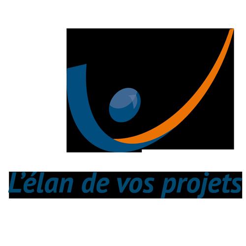 Visuel logo et signature l'élan de vos projets